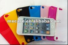 TPU glassy case for Ipod Touch5