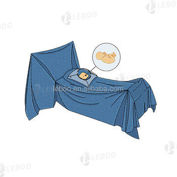 Leboo Sterile Cesarean-Section drape with Incise Film