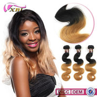 Tangle And Shedding Free two color hair extension hot sell in nigeria