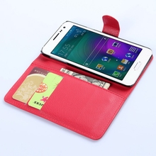 New style classical leather wallet case for samsung a3 mini