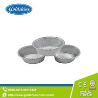 OEM/ODM Supply different size aluminum foil container for egg tart, cup cake