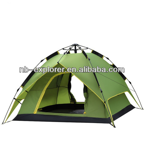 automatic comping tent for enjoying the sunshine