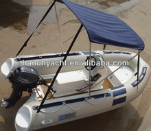 Small fiberglass speed boat with Yamaha boat engine HLB380B