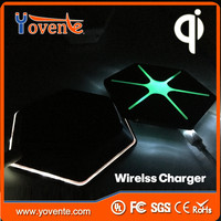Yovente Universal Mobile Wireless Charger Samsung S6&S6 Edge Wireless Charger Mini Power Bank