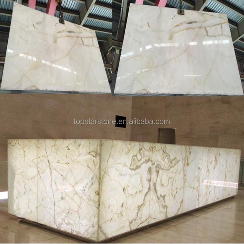 l 39 iran personnaliser panneau blanc couleur onyx marbre. Black Bedroom Furniture Sets. Home Design Ideas