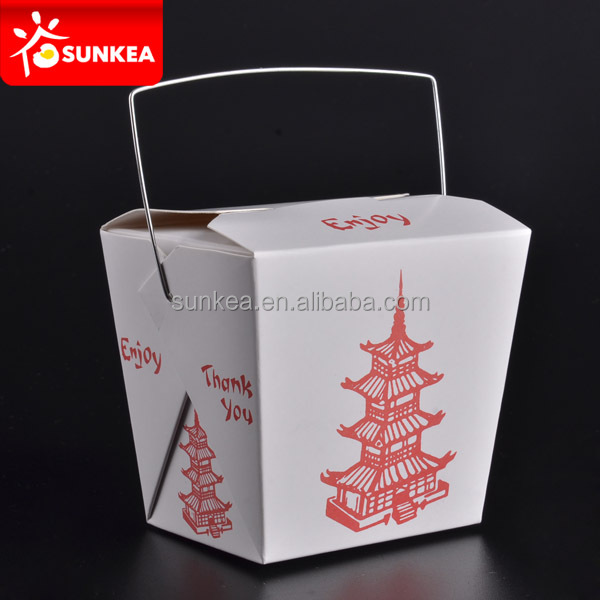 Japanese food paper container