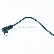 MINI 10PIN Angled USB to Bare End Cable