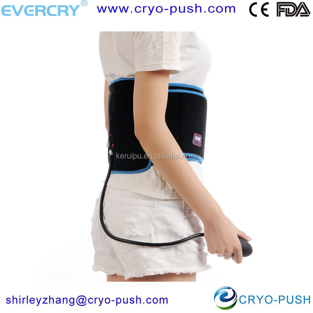 ice compression wrap pneumatic compression device hydrogel wound care
