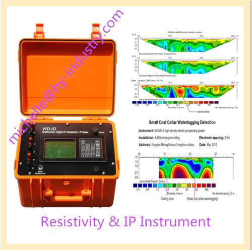 Terrameter & Multi-Electrode 2D Resistivity Image For Underground Water Finder, Water Detection