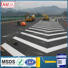 Thermoplastic marking road primer paint