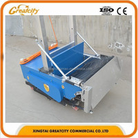 solid construction plastering tools automatic wall cement plastering machine