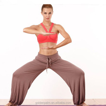 High quality flowing loose yoga sweatpants for women yoga pants
