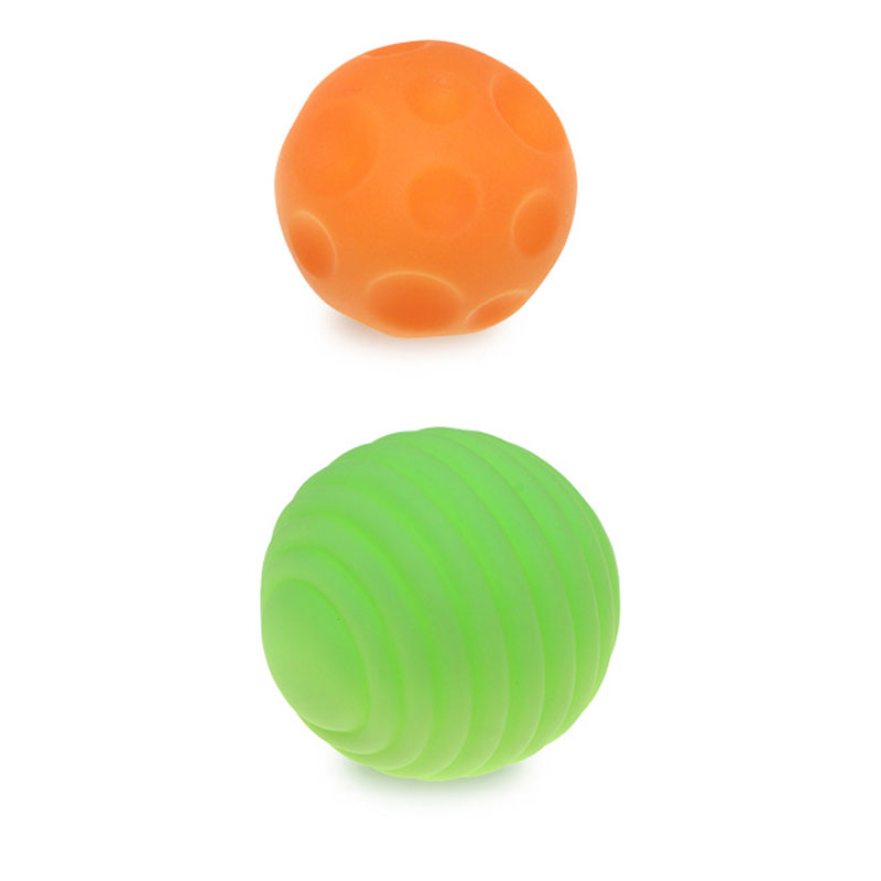 High quality 7cm soft cute squeeze stress toy baby ball