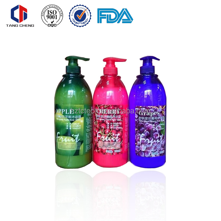 China advertisement for shampoo 1380ml