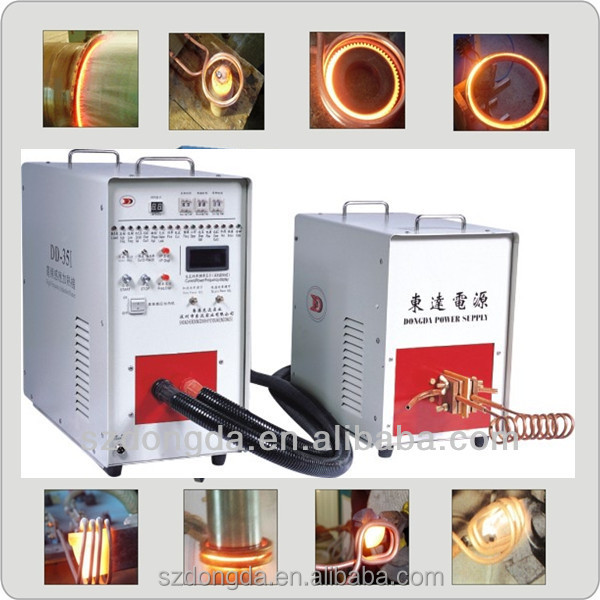 Factory Supply IGBT technical 80kw induction heating equipment For Steel shaft Heat Treatment