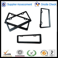 Glossy finish twill US Auto License Plate Frame Carbon Fiber Frames