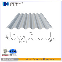 Second hand or used zinc coated steel floor decking from shandong boxing