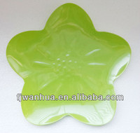 New flower plastic plate