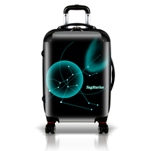 2017 latest model new design beautiful luggage set