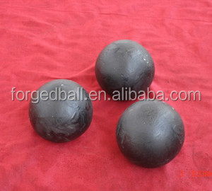 High hardness forged grinding steel ball