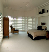 Factory direct sell antique wood shutters