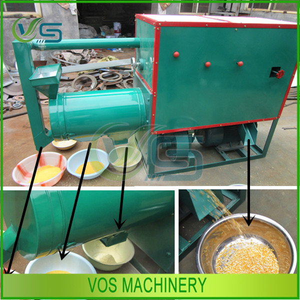 automatic corn grits production line/corn grinding machine/corn milling machine for sale