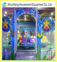 good quality new kiddie ride used funfair attractions spray ball car