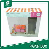 Fashion popular baby blanket gift box with window