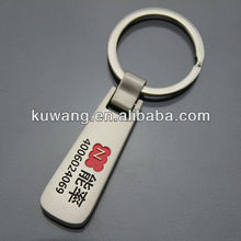Promotional Metal Key Chain With Debossed Logo