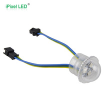 Multicolor 5050 rgb pixel led nodes 26mm - 20pcs / string