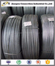 77B 82B quality PC steel wire for cable stayed bridge in coils