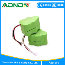 Long Shelf Life Robort battery of 6 voltage 3000mah SC Size Ni-MH Rechargeable battery