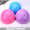 Plastic toy helmet with white foam material, cute colors(FH-HE006)