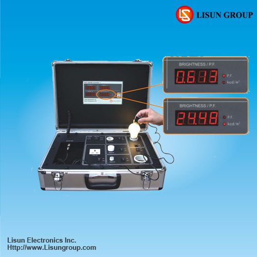 Portable Power Analyzer - LS616S Fast Photo-Electric Tester to Measuring Voltage, Current, Power, Power Factor and Brightness