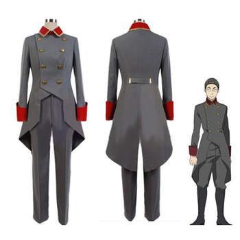 Wholesale Anime Aldnoah Zero Cosplay Costume Tolland Cosplay clork suit anime men's cosplay uniform wholeset suits overcoating