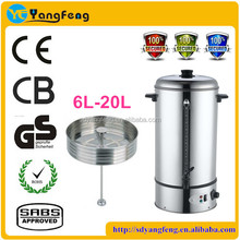 Stainless Steel Manual Fill Water coffee percolators with CE CB
