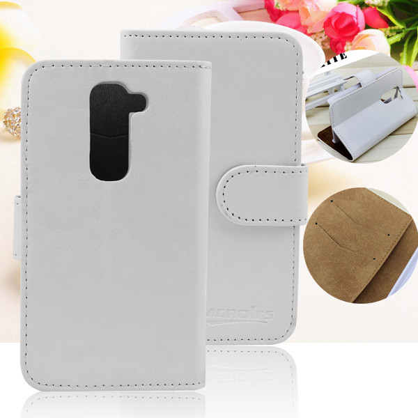 wholesale phone accesories leather back flip cover case for lg g2 verizon vs980