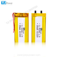 customized dimension 3.7V 280mAh battery YJ402040 Lithium Polymer Rechargeable li ion Battery 2p 560mAh lipo battery