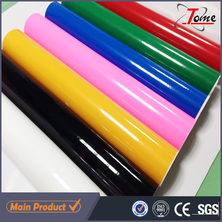 self adhesive color film computer plotter vinyl / cutting vinyl material rolls