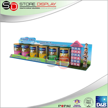 Paper material Free Design Advertising POP counter display for Similac