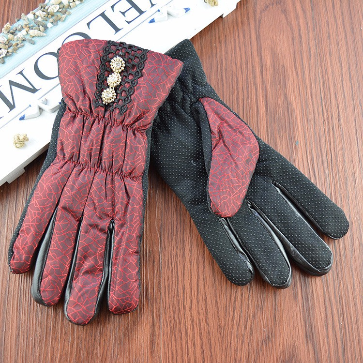 Wholesale women magic gloves microfiber gloves neon magic worker gloves