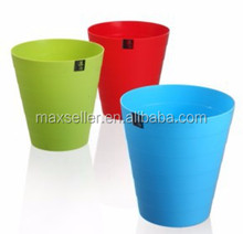 plastic home and office dustbin trash bin