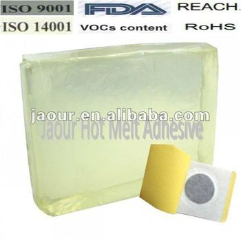 Raw Material Hot Melt Glue for Medical Tape