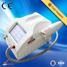 2015 new arrival portable salon home use 1064 nm 532nm nd yag laser