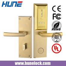 5 stars hotel smart card lock digital hotel lock with access control system
