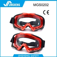 2015 safety goggles UV400 protective night vision fashion motocross goggles