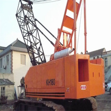 50ton used Hitachi crawler crane KH180, secondhand 50ton mobile crane, original japan!