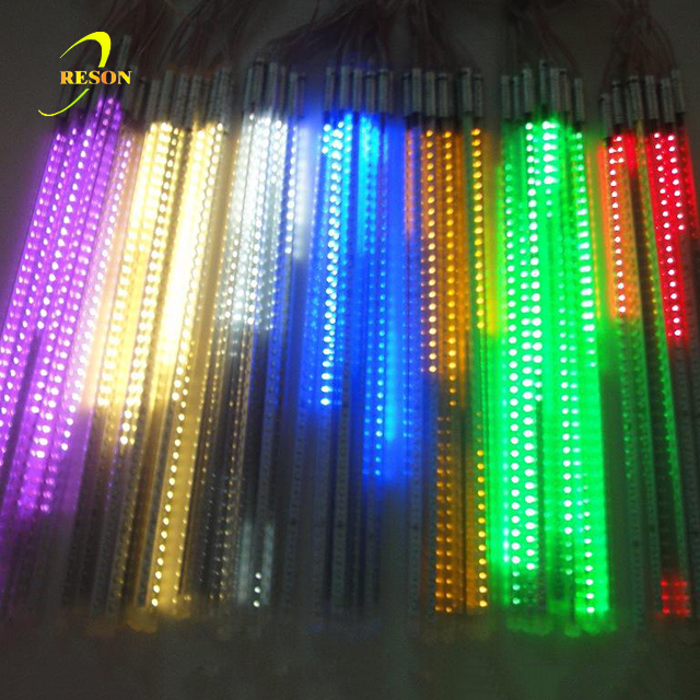 Double Side Led Meteor Holiday Decoration Lights
