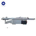 MJ6132TS sliding table saw in furniture with electrical lifting and tilting