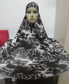 H303 latest big size print muslim hijab,islamic scarf,pray hijab